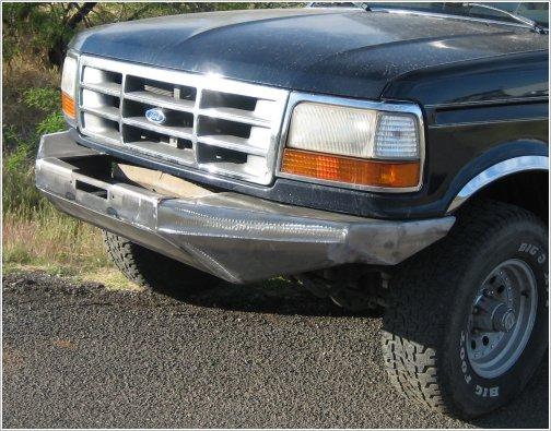 Custom bumpers